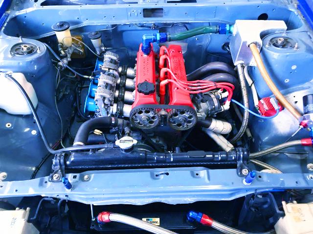 4.5AG 1600cc ENGINE With FCR CARBS