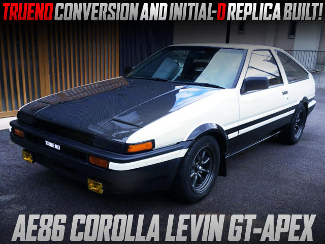 TRUENO CONVERSION AND INTIAL-D REPLICA BUILT OF AE86 LEVIN GT-APEX