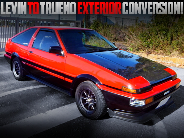 AE86 LEVIN TO AE86 TRUENO CONVERSION