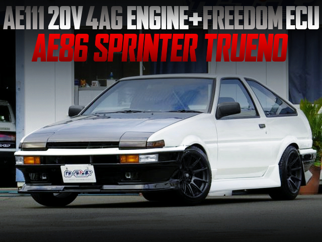 20V 4AG SWAPPED AE86 SPRINTER TRUENO 3-DOOR