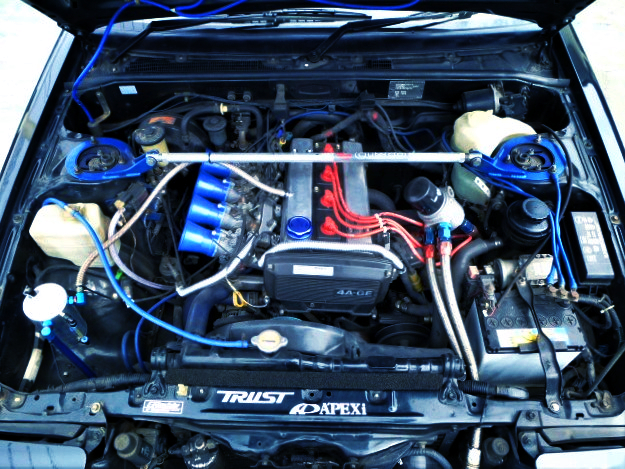16V 4AG ENGINE With ITB's