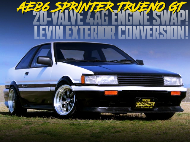 20V 4AG SWAP And LEVIN EXTERIOR CONVERSION TO AE86 TRUENO GT