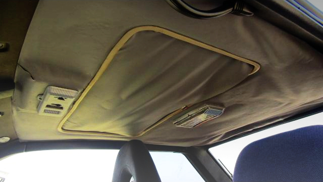 SUNROOF OF AE86 TRUENO GT