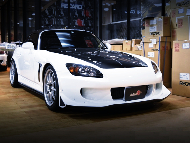 FRONT EXTERIOR AP2 S2000 CUSTOM CAR