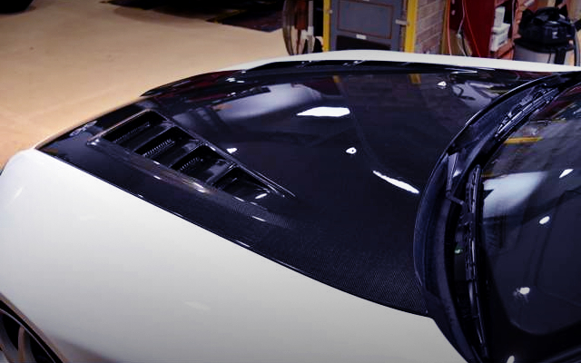 CARBON HOOD OF S2000