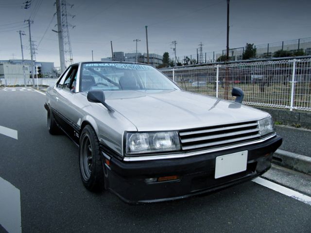 FRONT EXTERIOR OF ZENKI DR30 SKYLINE 2000RS