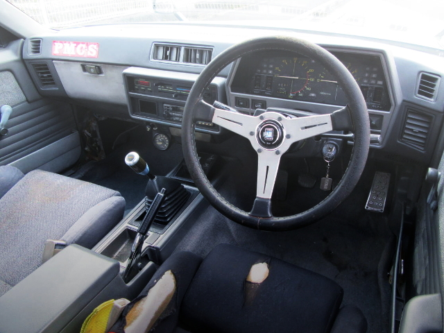 INTERIOR OF ZENKI DR30 SKYLINE 2000RS