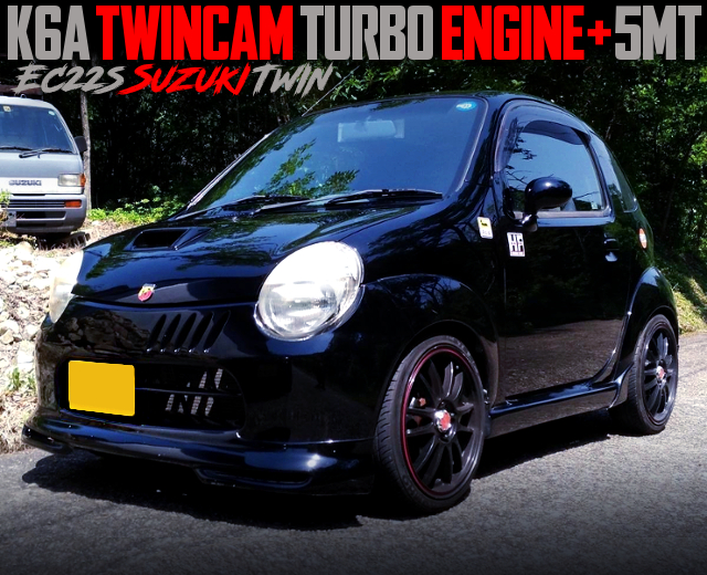 K6A TWINCAM TURBO ENGINE AND 5MT SWAPPED EC22S SUZUKI TWIN