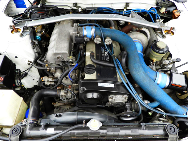 RB25DET ENGINE With TRUST TURBOCHARGER