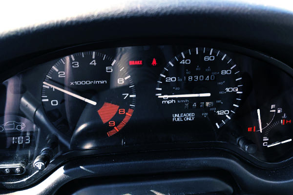 MPH SPEED CLUSTER