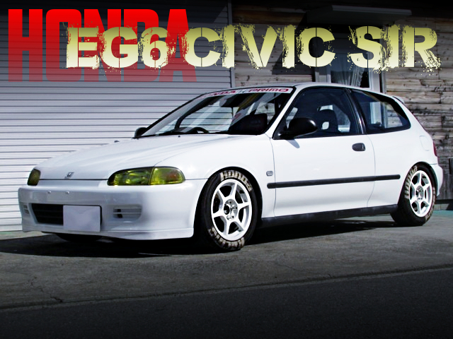 KANJO STYLE CUSTOM OF EG6 CIVIC SIR