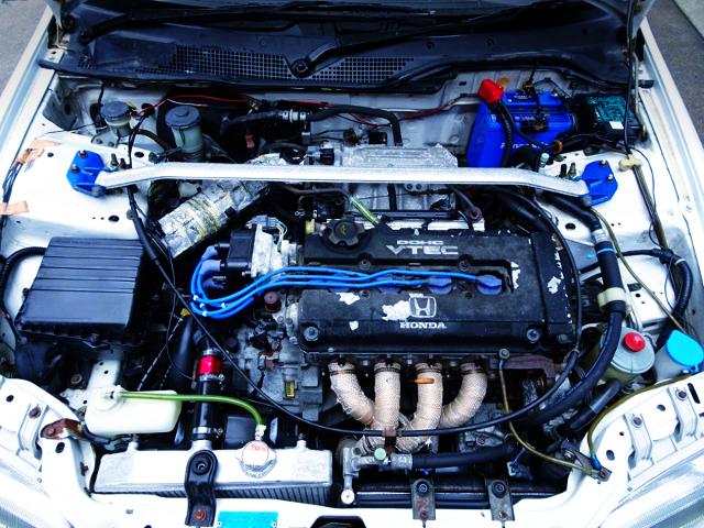 B16A VTEC ENGINE OF EG6 CIVIC SiR2 MOTOR