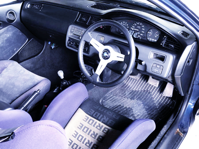 INTERIOR OF EJ1 CIVIC COUPE