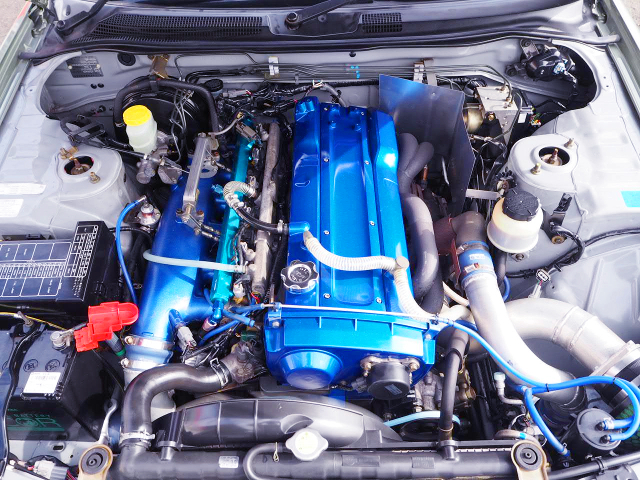 RB25DET With RB26 ITB'S AND GT-RS TURBO