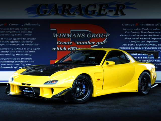 FRONT EXTERIOR OF FD3S RX-7 TYPE-RB