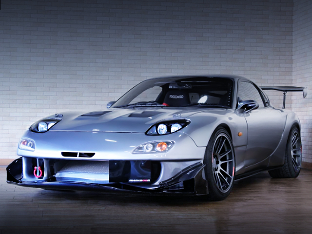FRONT EXTERIOR OF FD3S RX-7 WIDEBODY
