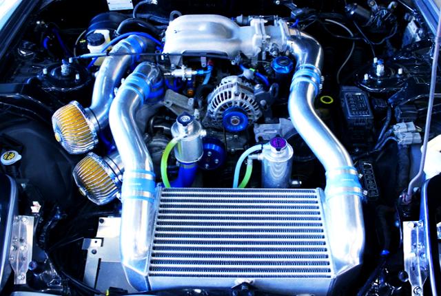13B REW ROTARY ENGINE