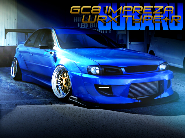 DOUBLE WIDEBODY TO GC8 IMPREZA COUPE WRX TYPE-R