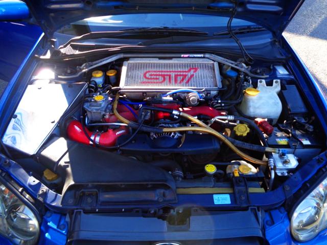 EJ207 BOXER TURBO ENGINE OF GDB IMPREZA WRX STI