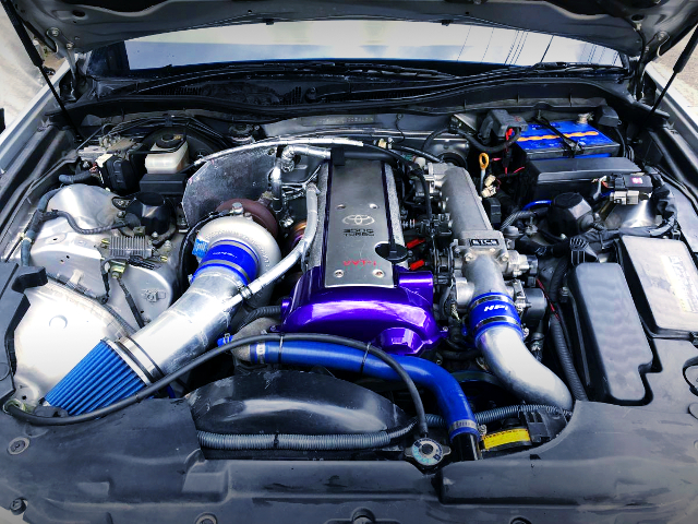 TD06-25G SINGLE TURBO ON VVTi 1JZ-GTE ENGINE