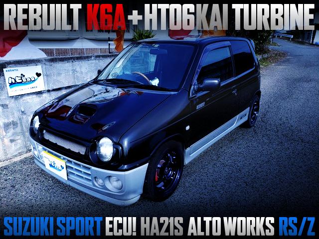 REBUILT K6A With HT06KAI TURBO INTO HA21S ALTOWORKS RSZ