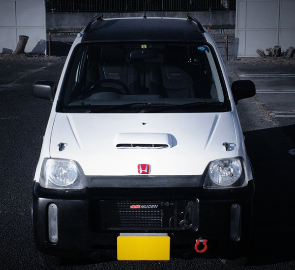 FRONT EXTERIOR OF PA1 HONDA Z TYPE-R
