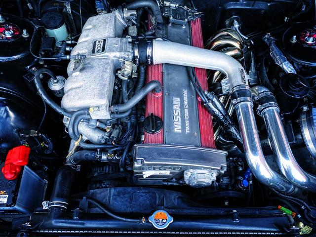 RB20DET TURBO ENGINE OF HR31 MOTOR