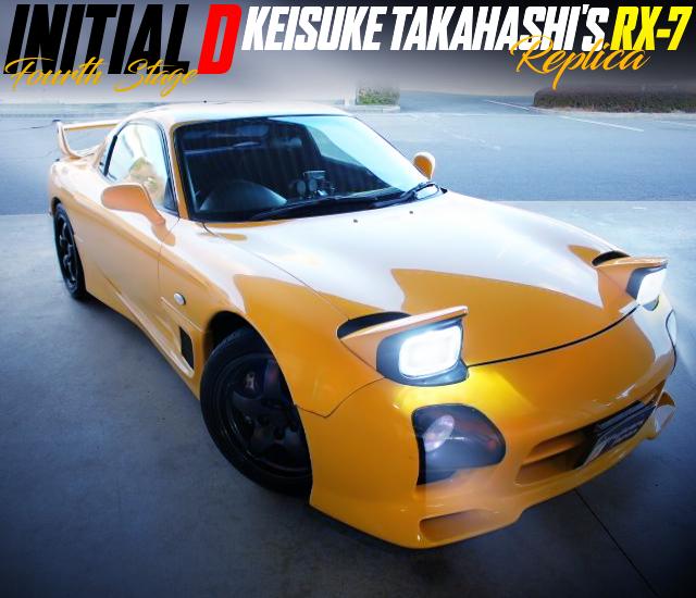 INITIAL-D FOURTH STAGE KEISUKE TAKAHASHI'S RX-7 REPLICA