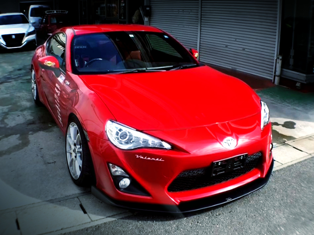 FRONT EXTERIOR OF TOYOTA 86GT