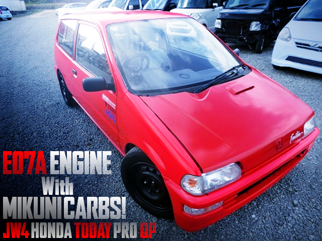 E07A with MIKUNI CARBS INTO JW4 TODAY PRO QP
