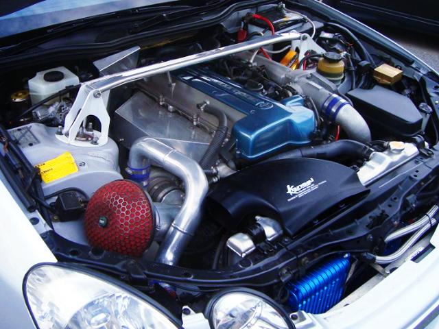 2JZ-GTE With GT3037ProS SINGLE TURBO