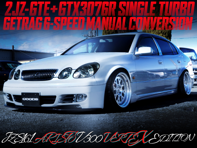 2JZ With GTX3076R SINGLE TURBO AND 6MT INTO JZS161 ARISTO
