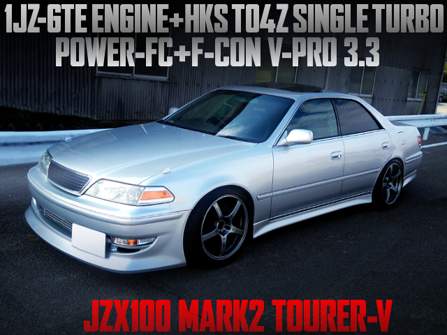 1JZ-GTE WITH TO4Z TURBO OF JZX100 MARK2 TOURER-V