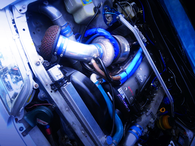 TO4Z TURBO ON 1JZ-GTE VVT-i MODEL