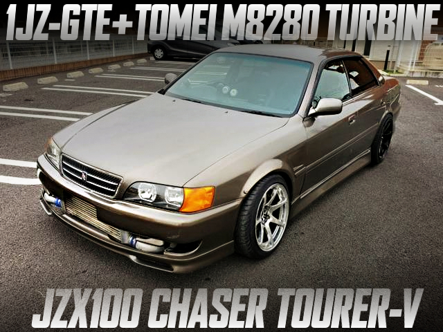 1JZ-GTE WITH TOMEI M8280 TURBINE OF JZX100 CHASER TOURER-V