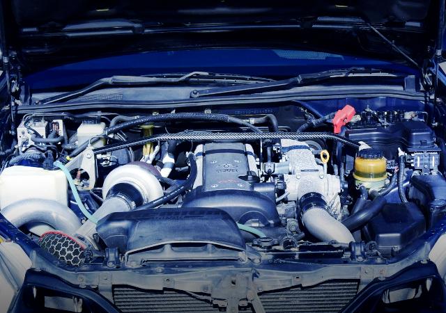 1JZ-GTE TURBO ENGINE