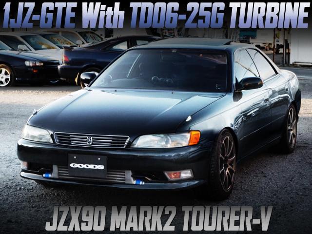 TD06-25G TURBO ON 1JZ-GTE With JZX90 MARK2 TOURER-V
