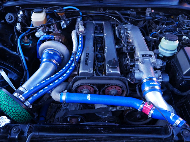 NON-VVTi 1JZ-GTE ENGINE With TD06-25G TURBO
