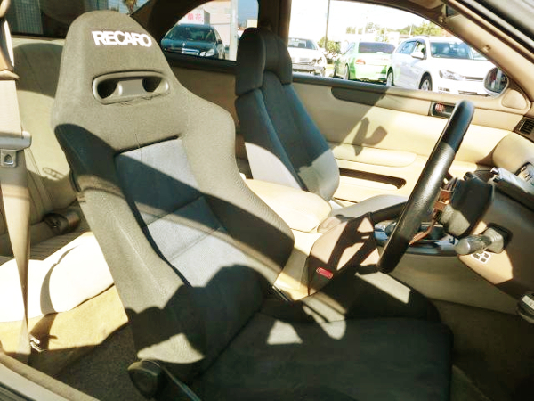 DRIVER'S RECARO SEAT
