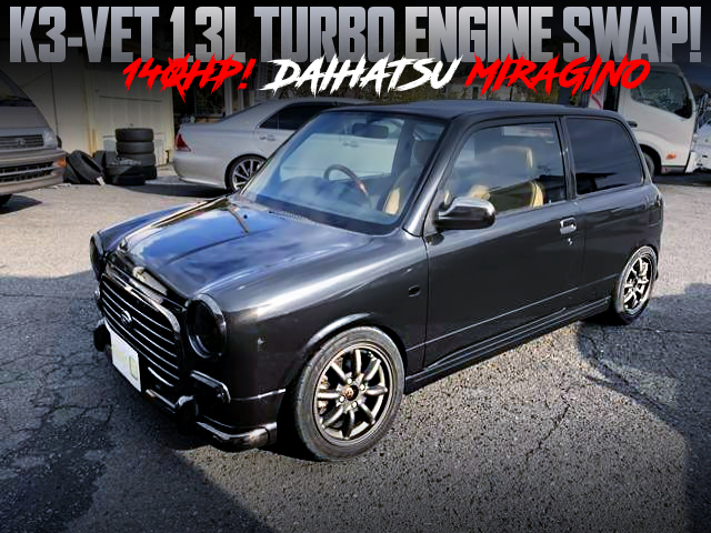 140HP K3VET TURBO SWAPPED L700 MIRAGINO