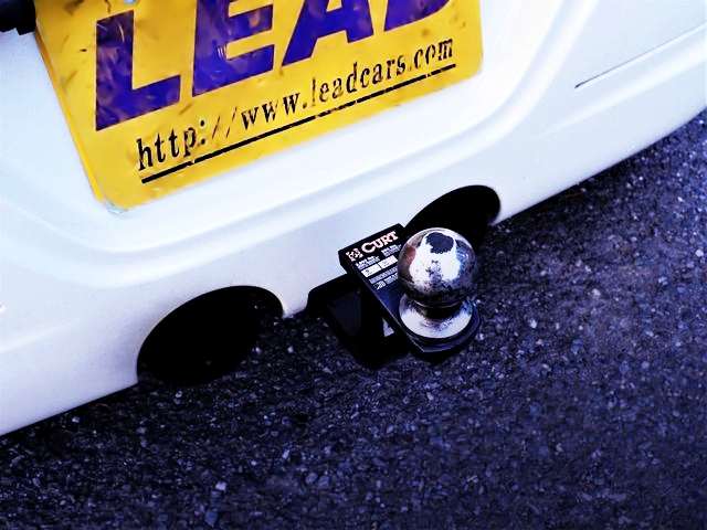 CURT TRAILER HITCH BALL MOUNT INSTALLED L880K COPEN