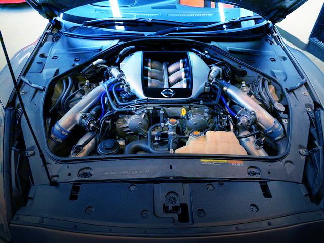 VR38DETT V6 TWINTURBO ENGINE OF R35GT-R MOTOR