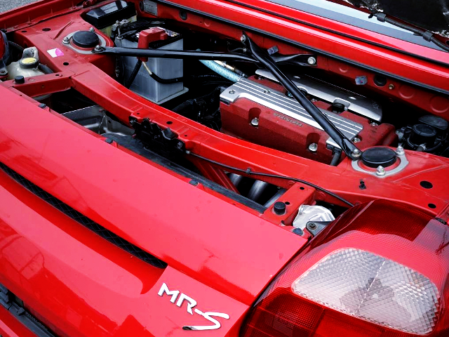 MRS REAR HOOD OPEN