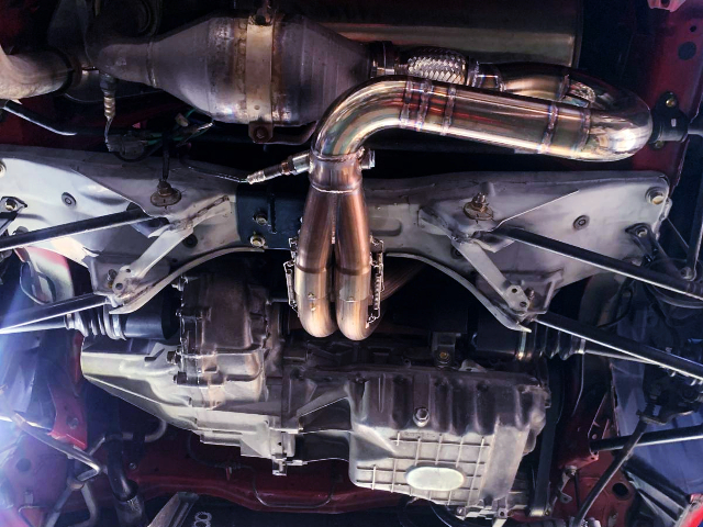 CUSTOM EXHAUST MANIFOLD