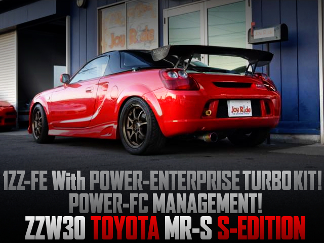 1ZZ-FE KAI TURBO ENGINE INTO A MR-S S-EDITION