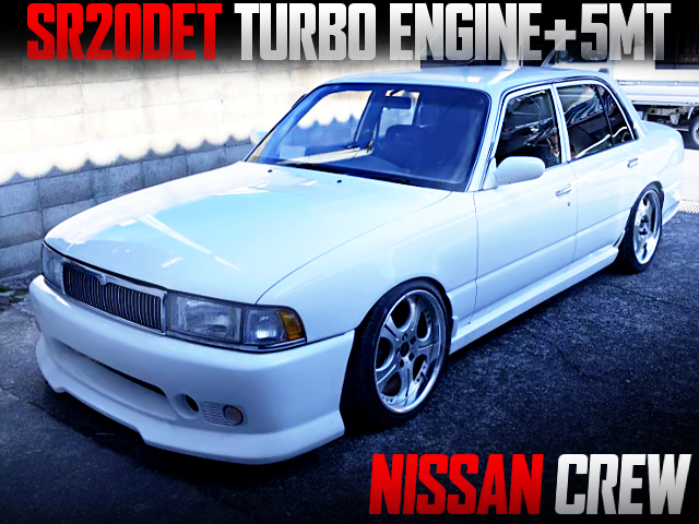 SR20DET TURBO AND 5MT SWAPPED NISSAN CREW TO WHITE
