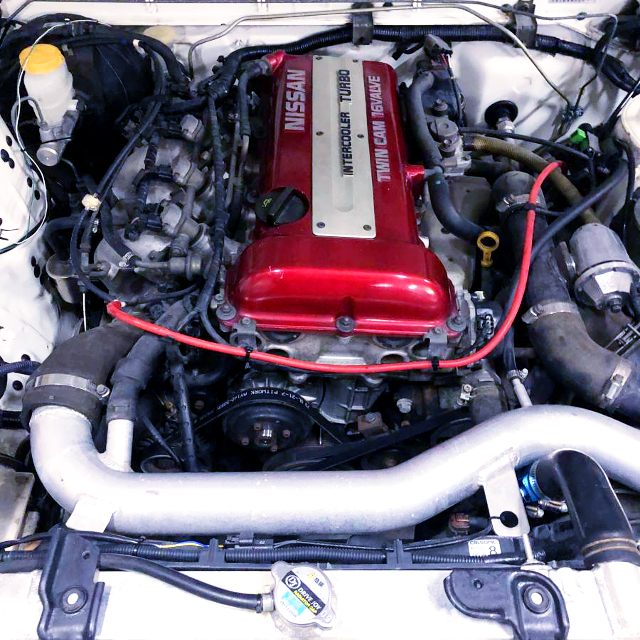RED TOP SR20DET TURBO ENGINE