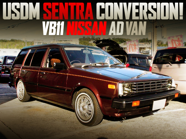 USDM SENTRA CONVERSION TO VB11 NISSAN AD-VAN