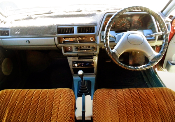 DASHBOARD OF VB11 NISSAN AD-VAN