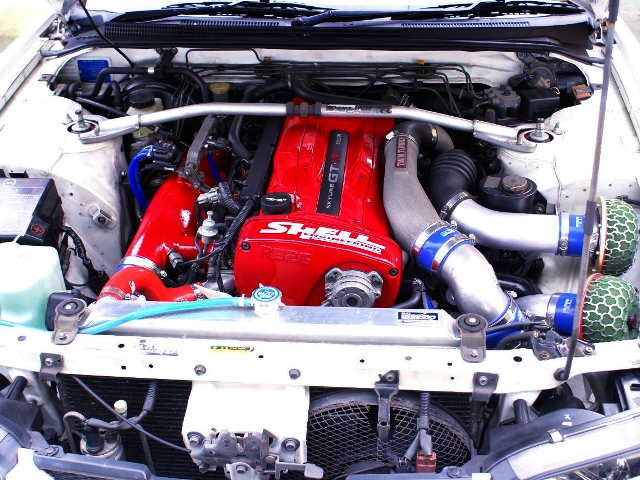 RB26 TWINTURBO ENGINE OF R33 GT-R MOTOR